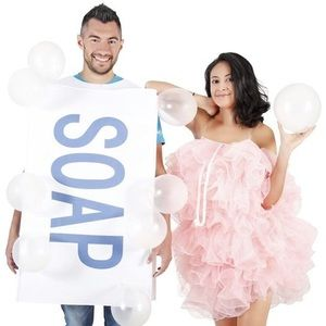 Couples Halloween Costume Soap and Loofah